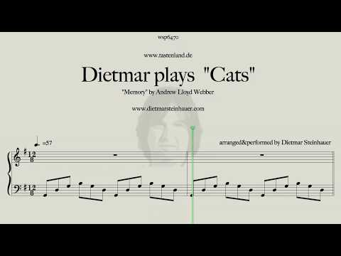 Dietmar plays Cats    Memory  Andrew Lloyd Webber