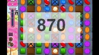 Candy Crush Saga level 870    ...
