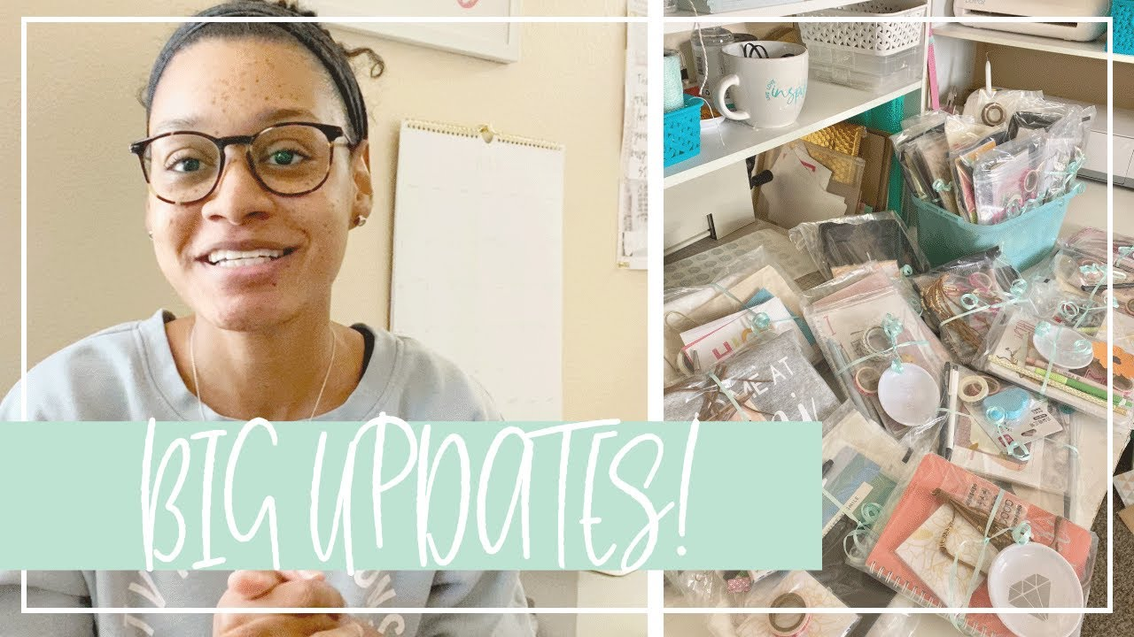 Big Updates, Grab Bags, Sales | Closing My Stationery Shop | Taking a Break