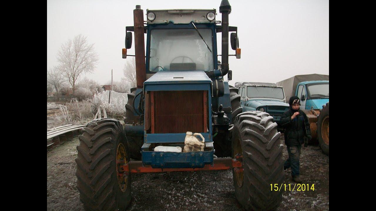 Самодельный трактор, внешний вид мини т 150 - YouTube