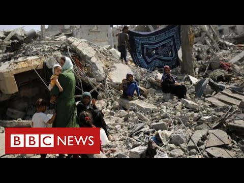 Israel agrees ceasefire with Hamas in Gaza after hundreds of deaths - BBC News