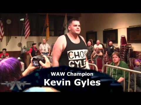Gyles (c) vs Grimm vs Cain vs Stamos vs Conway vs Pyro (9/12/2015) WAW Slam Jam part 6 -WAW Champ