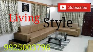 "Cover images L - Shape Sofa with Indian sitting by "" LIVING STYLE """