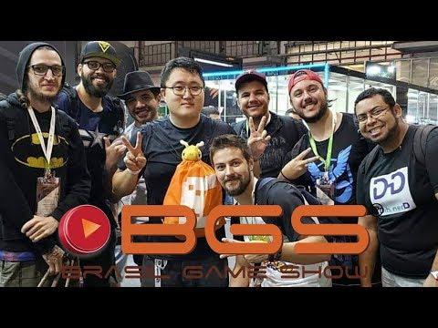 Brasil Game Show Com Jeff Feng E Pokétubers - BGS 2018