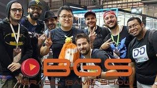 Brasil Game Show Com Jeff Feng E Pokétubers - (BGS 2018)