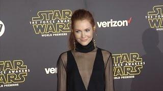 "Darby Stanchfield ""Star Wars The Force Awakens"" World Premiere"