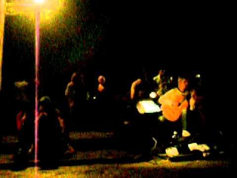 Guitarrista en el Ponte Vecchio