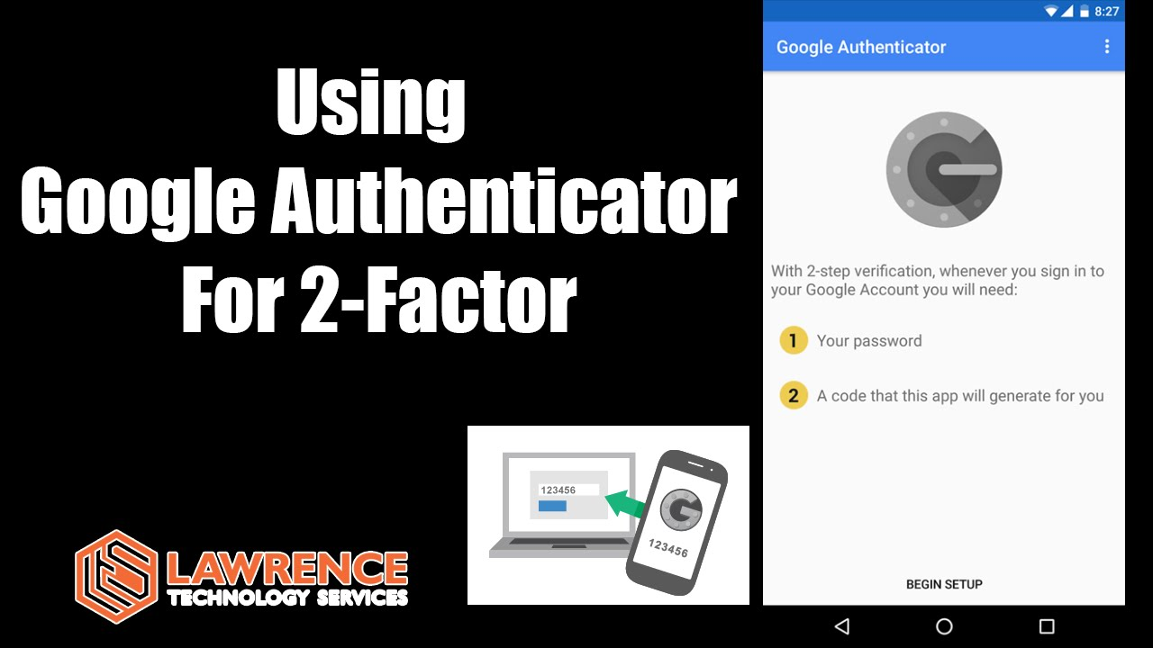 How Google Authenticator works for 2 factor authentication