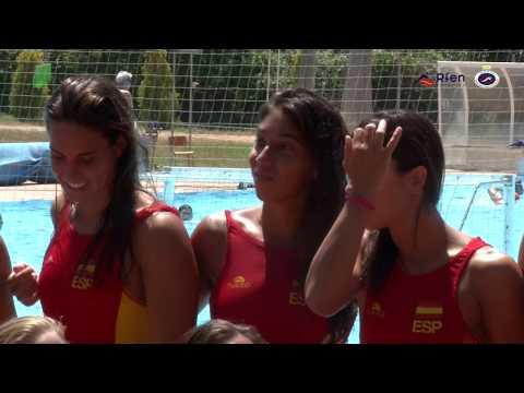 Mundial Budapest 2017 Media Day selección waterpolo femenina