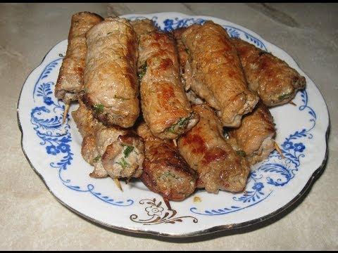 Пальчики мясные рецепт с фото с салом