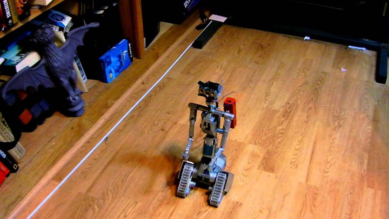 Rc controlled robot v johnny 5 toy youtube