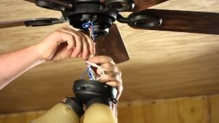 How to Change a Light Fixture on a Ceiling Fan : Ceiling Fan Projects
