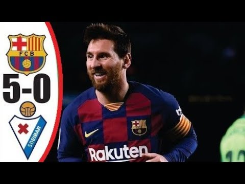 Barcelona vs. Eibar - Football Match Report - February 22, 2020 ...