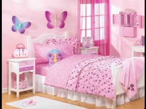 Teenage girl bedroom design ideas - YouTube