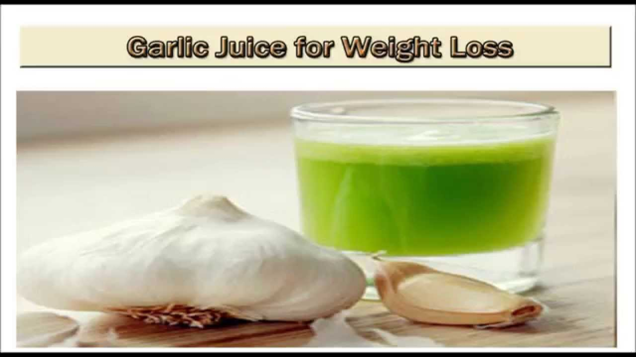 how to make garlic water for weight loss