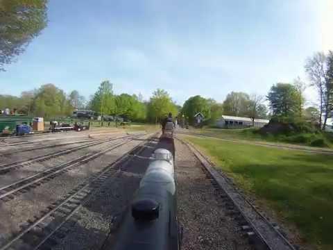 Switching at White Creek Railroad