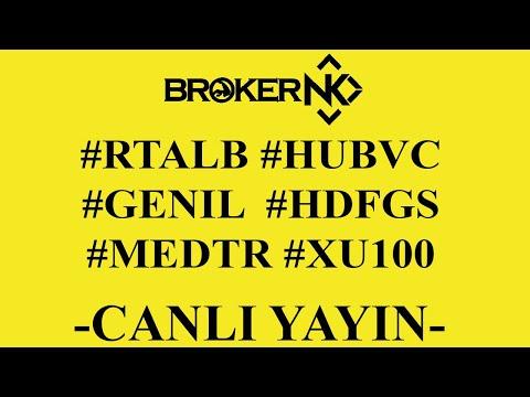 BORSA ANALİZLERİMİZ BAŞLIYORRR!!! #RTALB #MEDTR #HUBVC #HDFGS #GENIL CANLI HİSSE ANALİZ BORSA YORUM