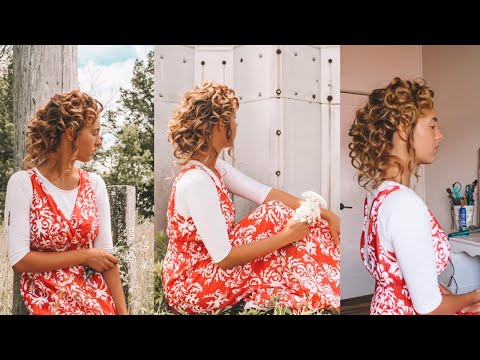 Elegant curly Hairstyle (UNPLANNED) thumbnail