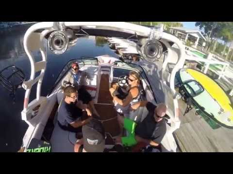 Wakeboarding with Island Adventure Watersports