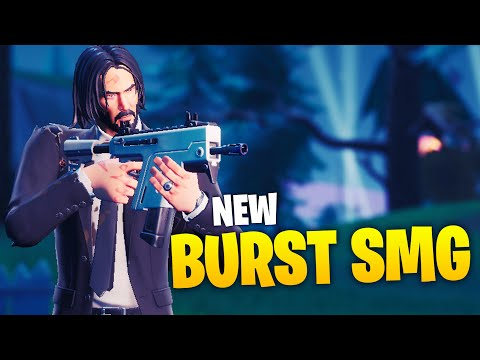 Ninja Tests NEW Burst SMG!
