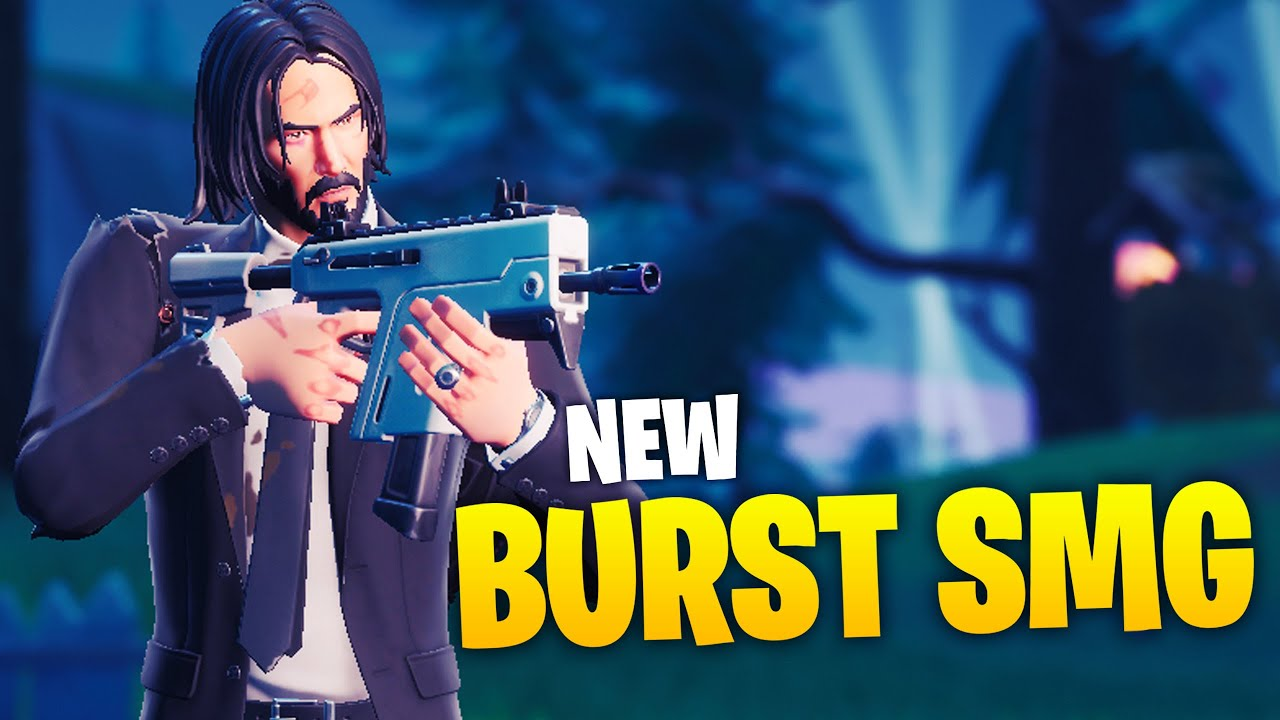 Ninja Tests NEU Burst SMG! + video