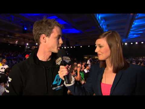 Interview with Kelby - the manager of CLG after game 1 vs TSM | NA Regional PlayOffs  PAX Prime 2013