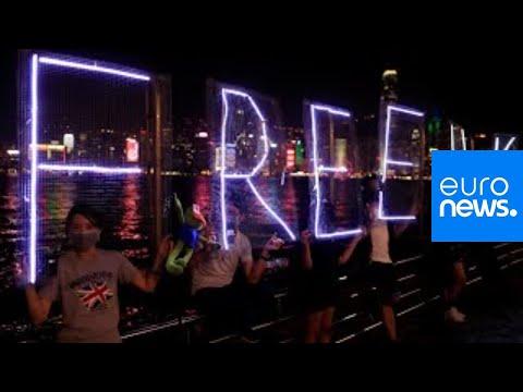hong-kong-protesters-hold-demonstrations-as-china-celebrates-#china70-|-live-1/2
