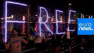 Hong Kong protesters hold demonstrations as China celebrates #China70 | Live 1/2