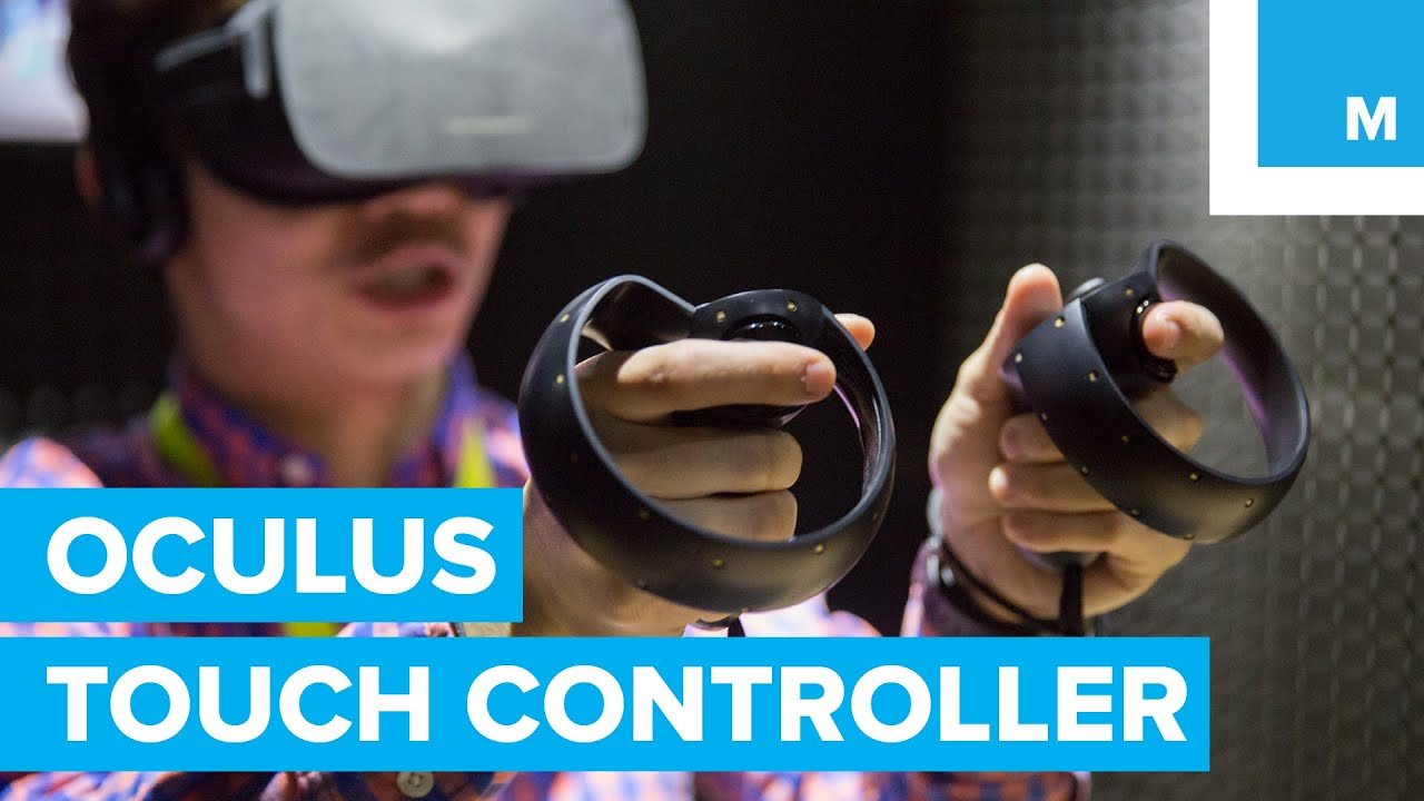 Hands on with Amazing Oculus Rift Touch Controllers   Mashable CES 2016