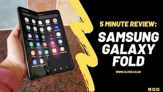 Samsung Galaxy Fold: 5 Minutes with The Future