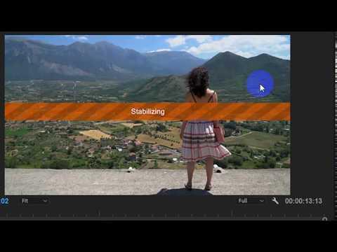 How To Stablize Shaky Handsheld Videos