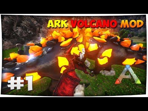 EPIC TITANO ARK COMES ALIVE | ARK Fr Mod The Volcano #Ep1