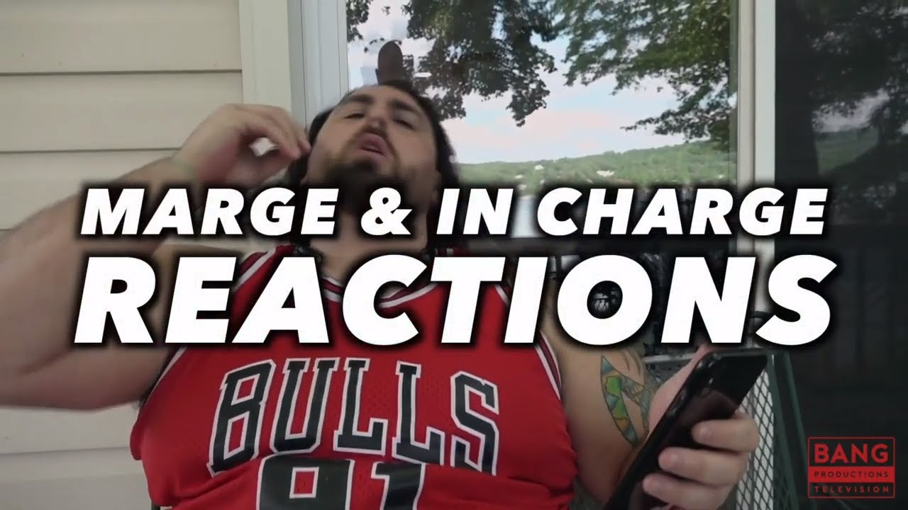 COMEDIAN GERARD HARAN: MARGE & IN CHARGE REACTIONS - COMEDY FUNNY LAUGH