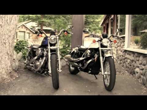2010 honda shadow rs motorcycle vs. 2010 harley-davidson 883 low