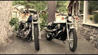 2010 Honda Shadow Rs Motorcycle Vs. 2010 Harley-davidson 883 Low Motorcycle