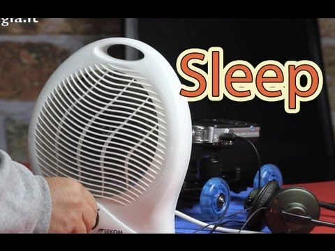 WHITE NOISE  Modulated sound  electric heater Soothe Your Crying Baby