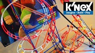 Roller Coaster Toy | K'NEX All American Roller Coaster Building Set Kinder Playtime