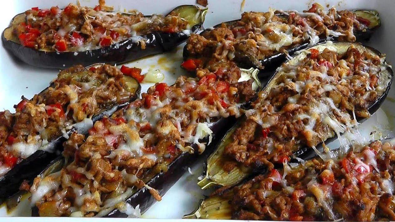 turkish stuffed eggplant ground beef