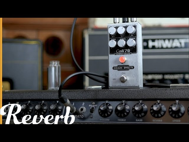 Guitar Compressor Basics Part 1: Attack, Release, Ratio Using Cali76 by Origin Effects | Reverb