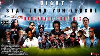 JANUARY 2019 DANCEHALL MIX DJ GAT STAY INNA YUH LEAGUE DANCEHALL MIX FT ALKALINEVYBZ KARTE ...