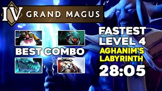 FASTEST GRAND MAGUS Aghanim's Labyrinth - 28:05 Minutes - TI10 Summer Event
