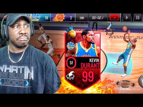 54dcfcfab36 99 OVERALL NBA RULER KEVIN DURANT IS CLUTCH! NBA Live Mobile 16 Gameplay Ep.