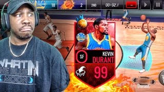 99 overall nba ruler kevin durant is clutch nba live mobile 16 gameplay ep 98