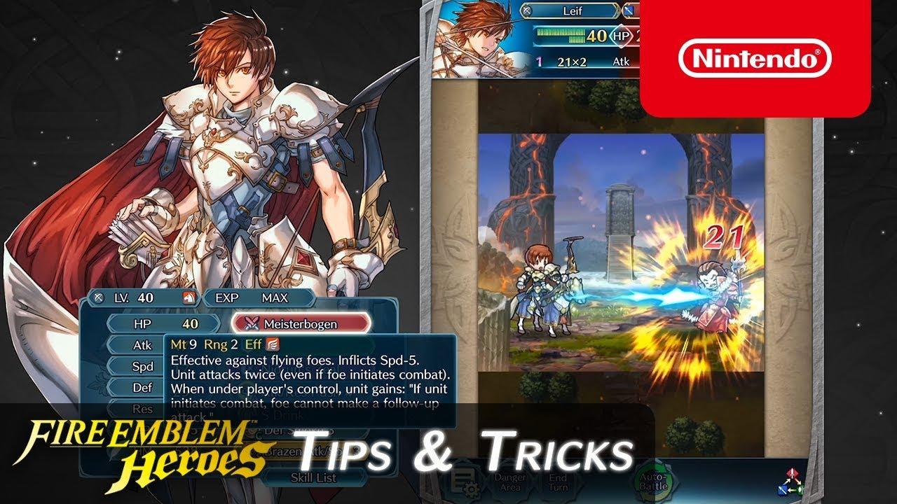 Fire Emblem Heroes - Tips & Tricks: Discover Legendary Leif