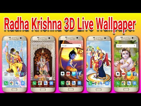 Radha Krishna 3D Live Wallpaper(Top 5 Apps)