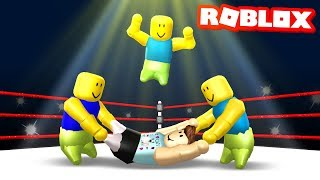 GANG BEASTS IN ROBLOX (Floppy Fighters)