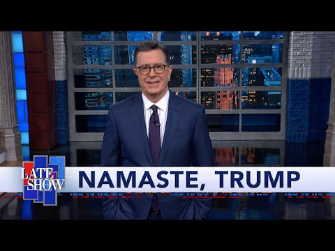 Trump In India: Cricket, Vegetarian Food, Fun With Pronunciation