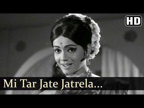 Mi Tar Jate Jatrela   Dev Manus Songs   Ramesh Deo   Asha Bhosle   Dance