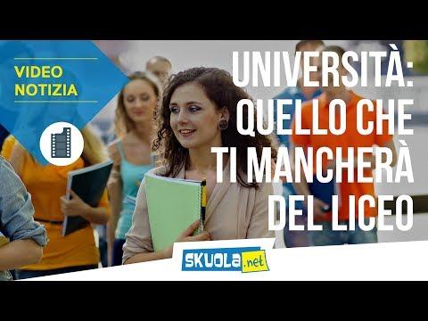 Università: le 5 cose che ti mancheranno del liceo