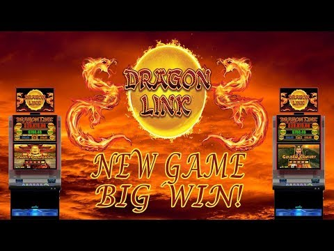 BIG WIN! NEW GAME-DRAGON LINK SLOT MACHINE - 동영상
